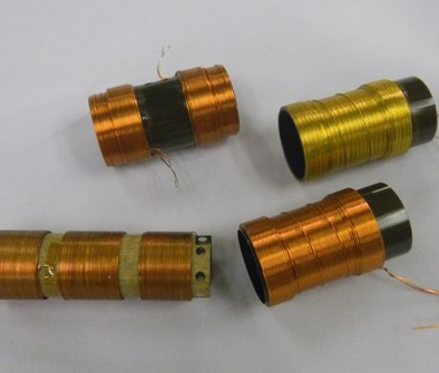 Voice Coils with Inside/Outside WIndings